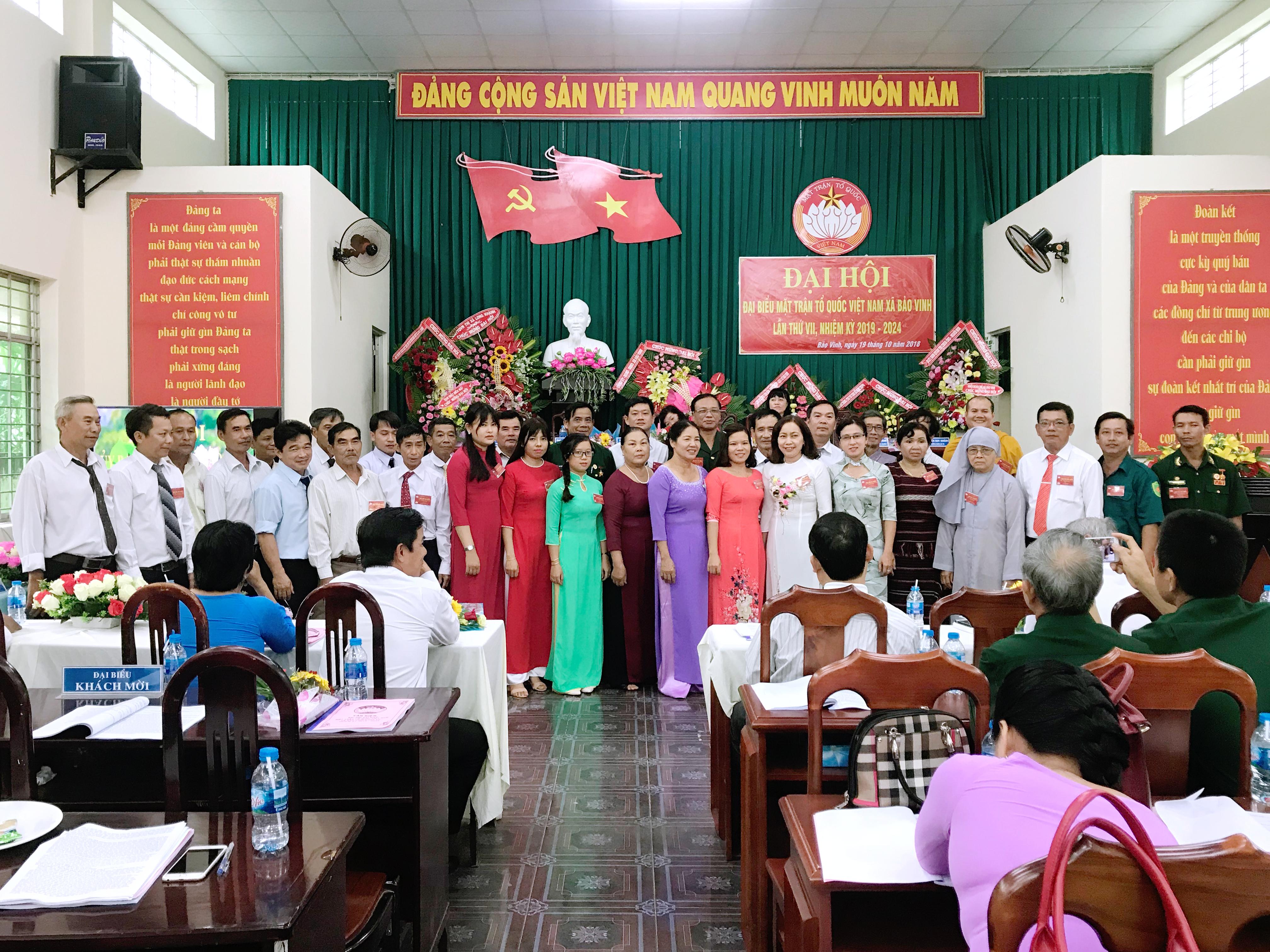 Đại hội đại biểu Mặt trận Tổ quốc Việt Nam xã Bảo Vinh lần thứ VII, nhiệm kỳ 2019-2024