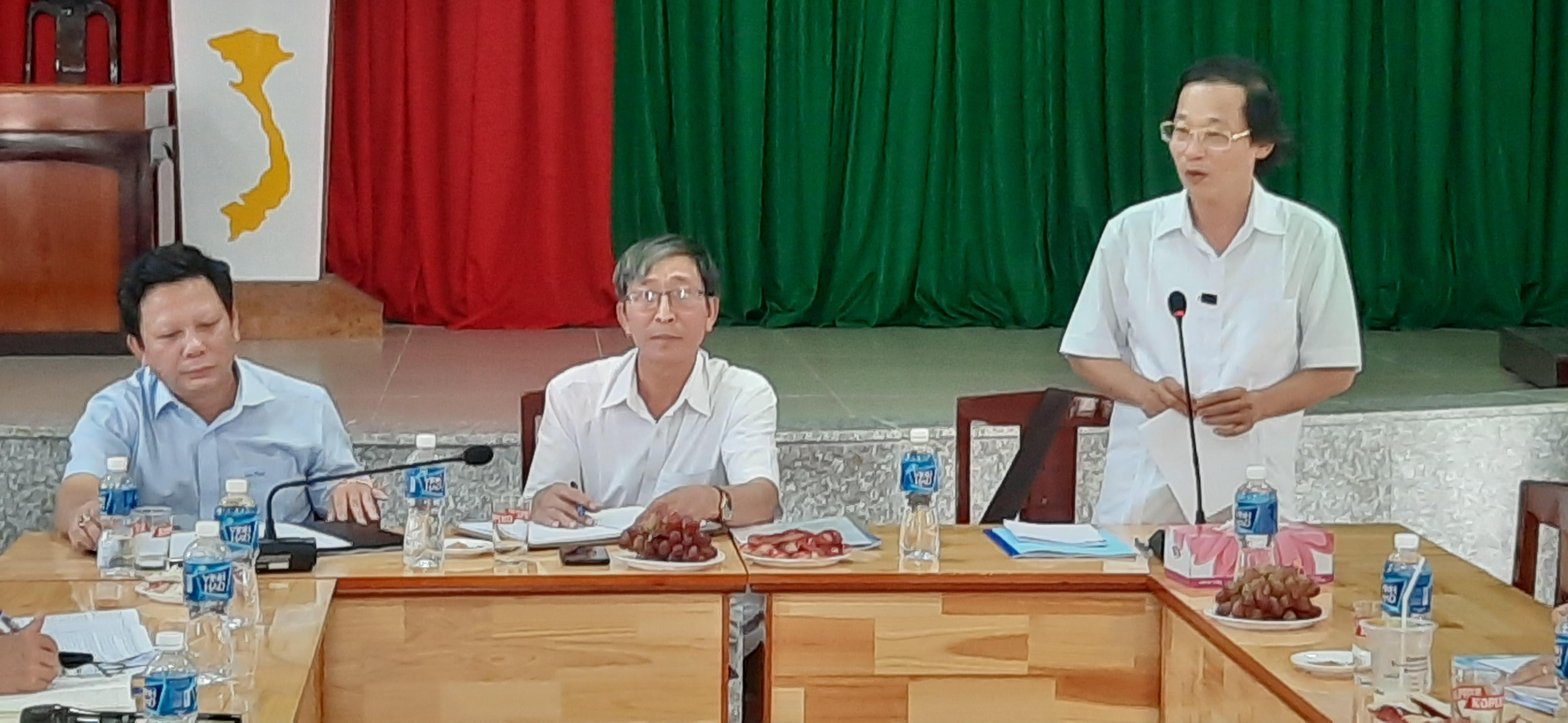 Kiểm tra công tác Mặt trận năm 2020 tại huyện Xuân Lộc và thành phố Long Khánh