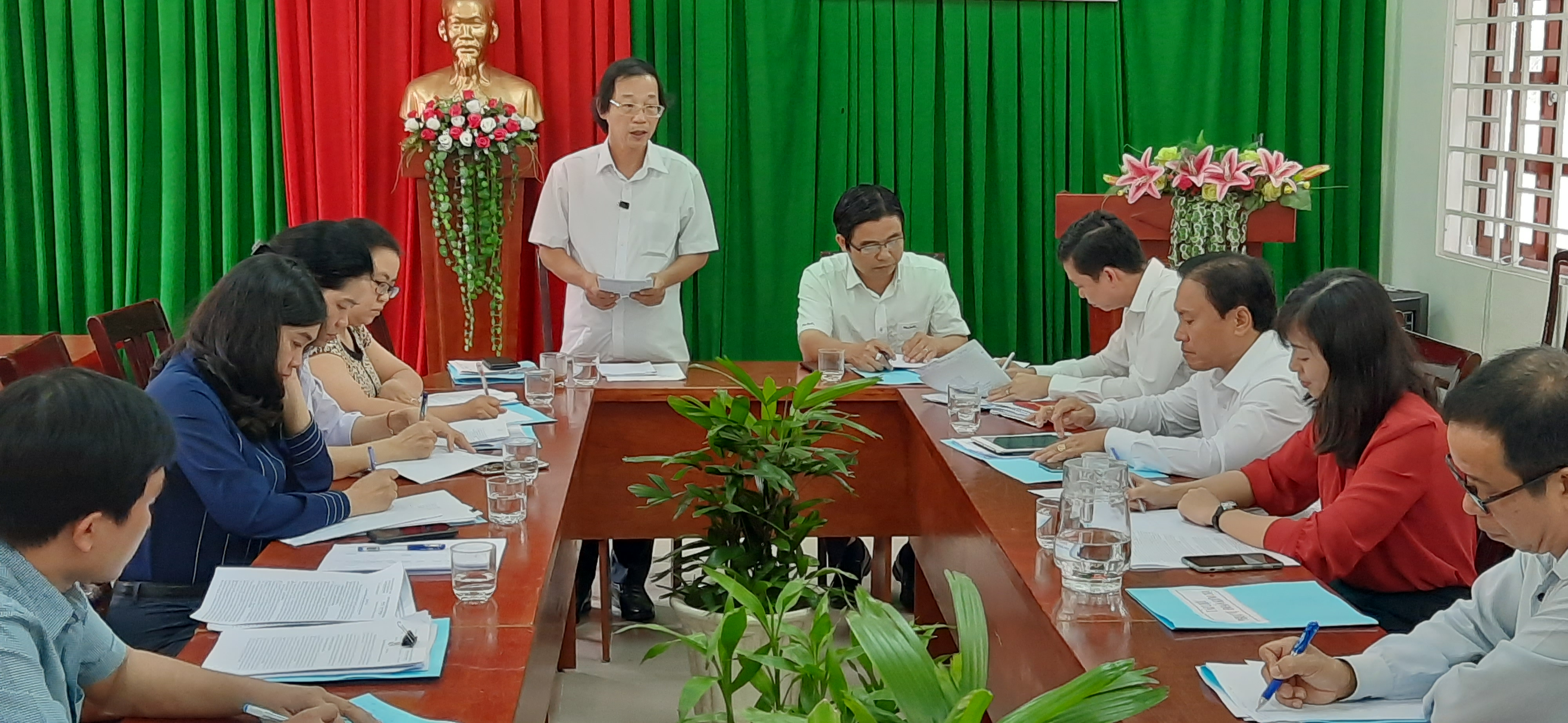 Kiểm tra công tác Mặt trận năm 2020 tại huyện Long Thành