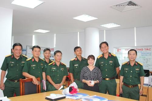 Lớp tập huấn báo chí Quân khu 7 thực tế tại Đài PTTH Đồng Nai và Lữ đoàn 25 Quân khu 7