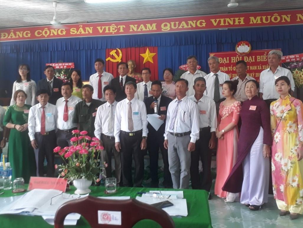 Đại hội Ủy ban Mặt trận Tổ quốc xã Xuân Phú, huyện Xuân Lộc lần thứ XIV, nhiệm kỳ 2019-2024